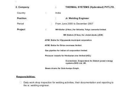 create my resume. welder resume sample resumecompanioncom ...