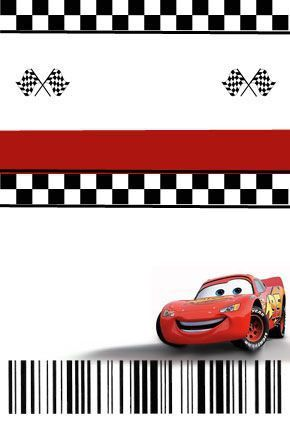 Homemade Cars Pit Pass Invitation Template and Tutorial | Cars ...