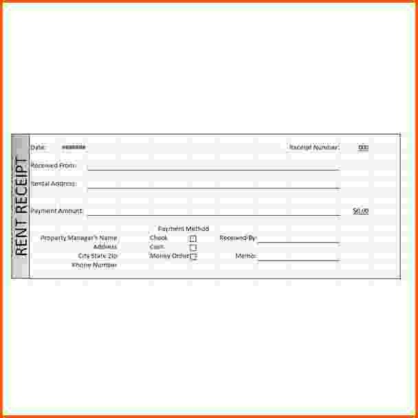 12+ rent receipt template word | Survey Template Words