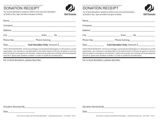 Church Donation Receipt Template for Religious Organization ...