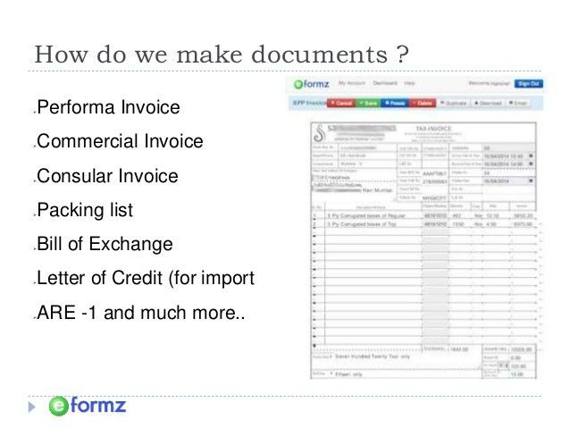 Export Documentation Software in India