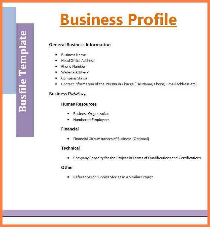 9+ company business profile sample | Company Letterhead