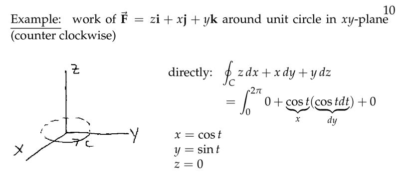 Session 93: Example | Part C: Line Integrals and Stokes' Theorem ...