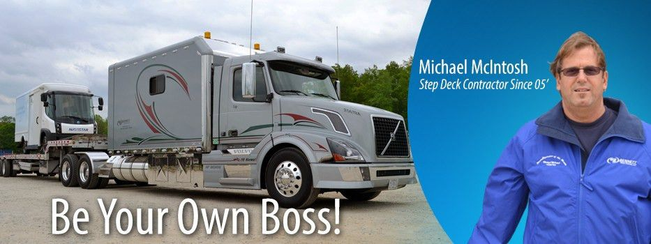 Flatbed & Step Deck Trucking Jobs | Bennett Trucking Jobs