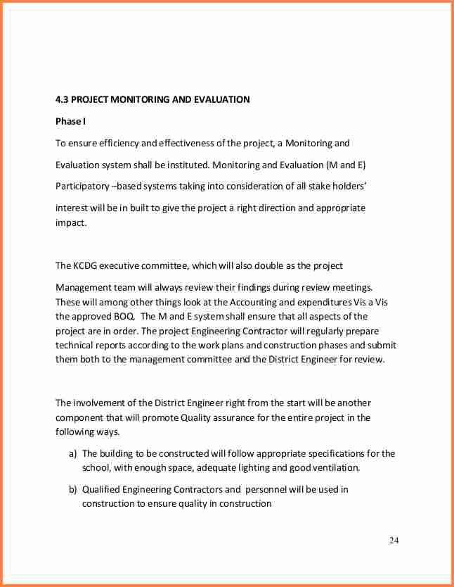 6+ school building construction project proposal | Project Proposal