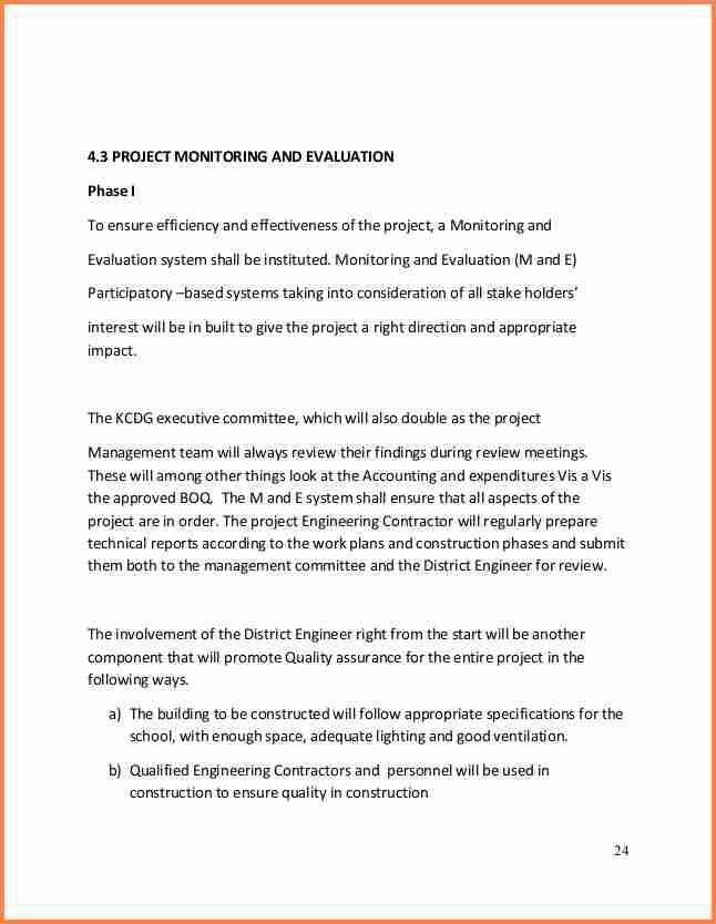 6+ School Building Construction Project Proposal | Project Proposal