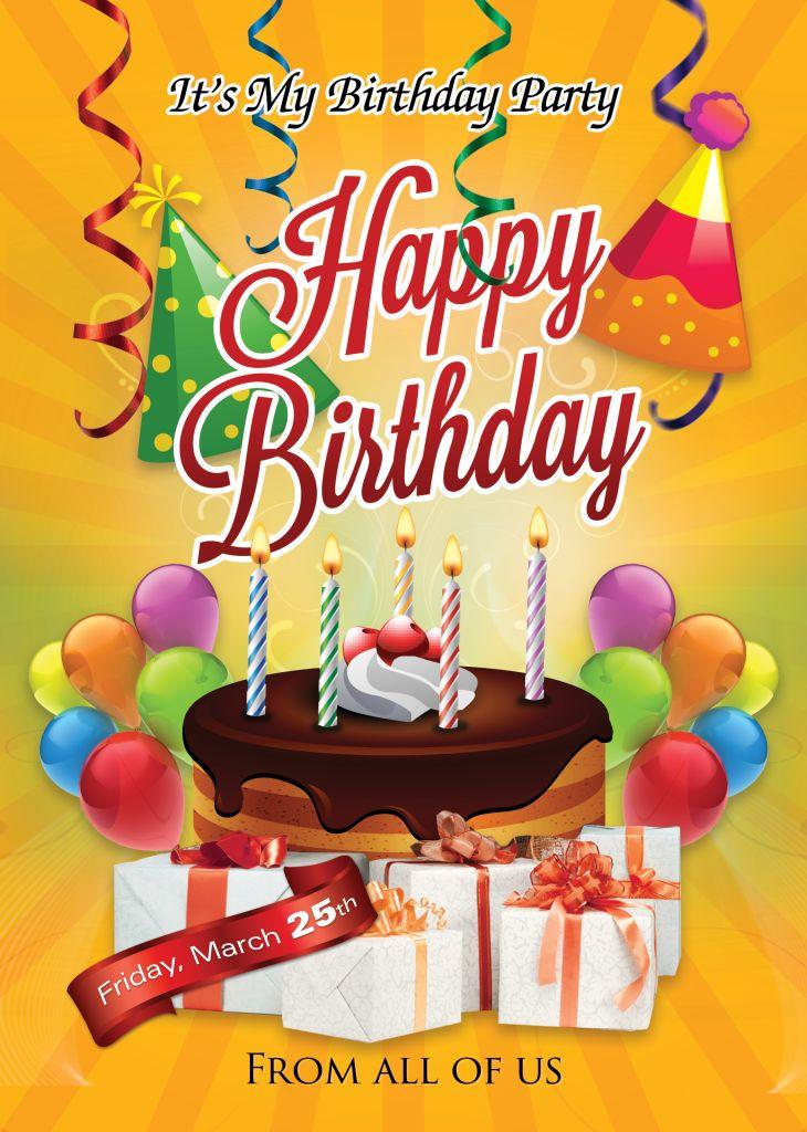 Microsoft Word Birthday Invitation Template | futureclim.info