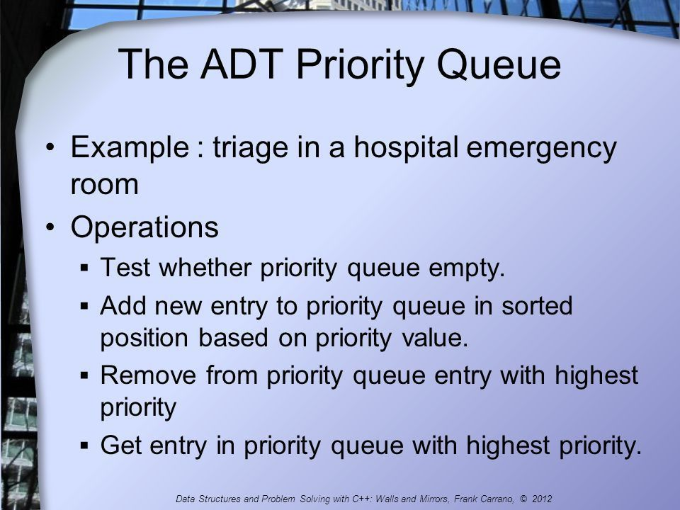 Queues and Priority Queues - ppt download