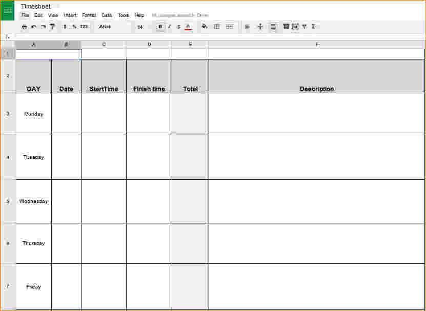 Printable Time Sheet. Sample Time Management Worksheet How To ...
