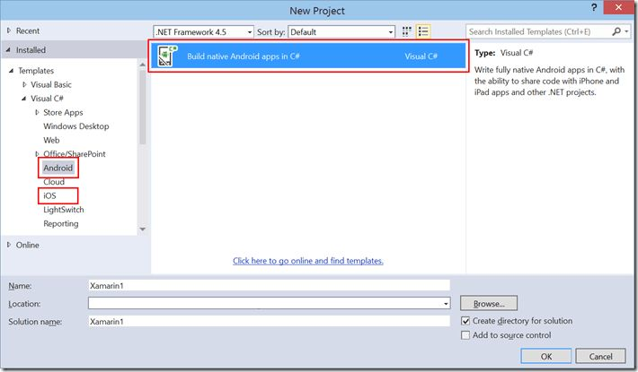 Installing Xamarin for Visual Studio 2015 Preview Side by Side ...