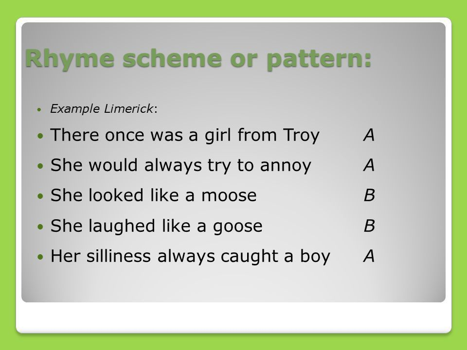 Learning Limericks and their Origin - ppt video online download
