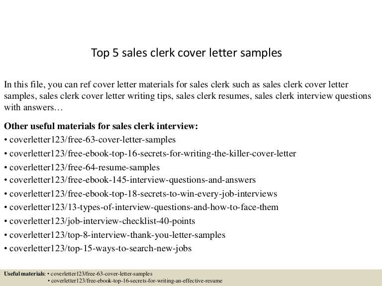 cover letter sample for sales
