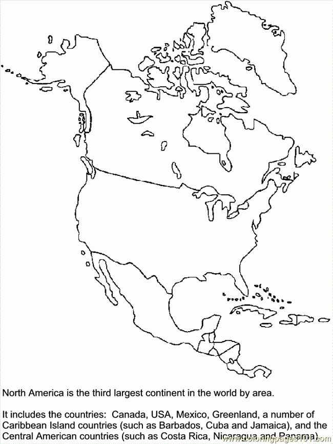 The World Factbook. Free PDF Maps Of North America Maps Of The ...