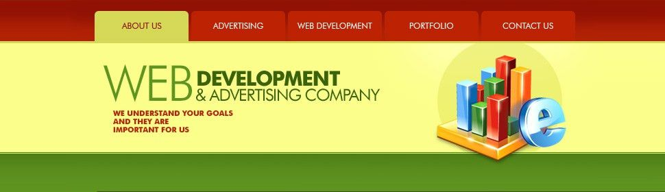Website Template #31637 Web Development Advertising Custom Website ...
