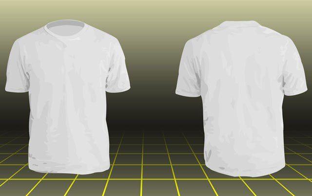Photoshop Men's basic t-shirt template | Free Download T Shirt ...