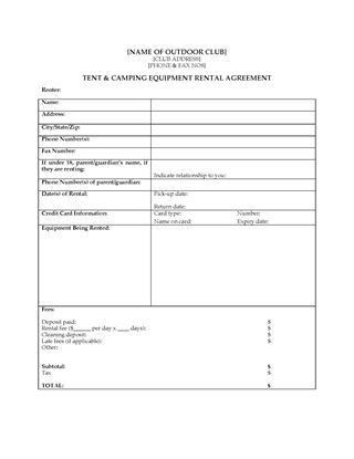 Sports and Fitness Forms | Legal Forms and Business Templates ...