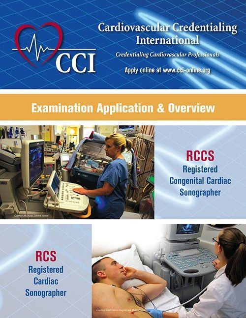CCI Examination Application and Overview booklets |