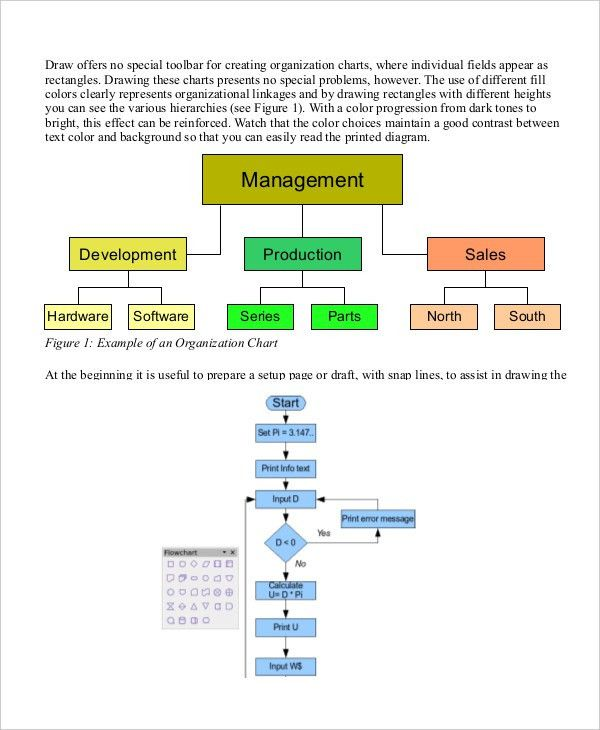 Organizational Chart - 9+ Free Word, PDF Documents Download   Free ...