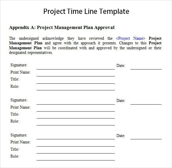 Project Management Timeline Template Word Project Timeline - Project management timeline template word