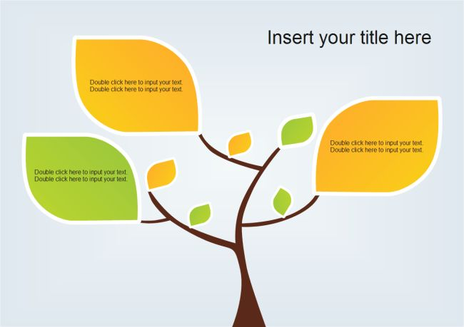 Tree Leaves PowerPoint | Free Tree Leaves PowerPoint Templates