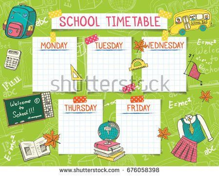 Timetable Stock Images, Royalty-Free Images & Vectors | Shutterstock