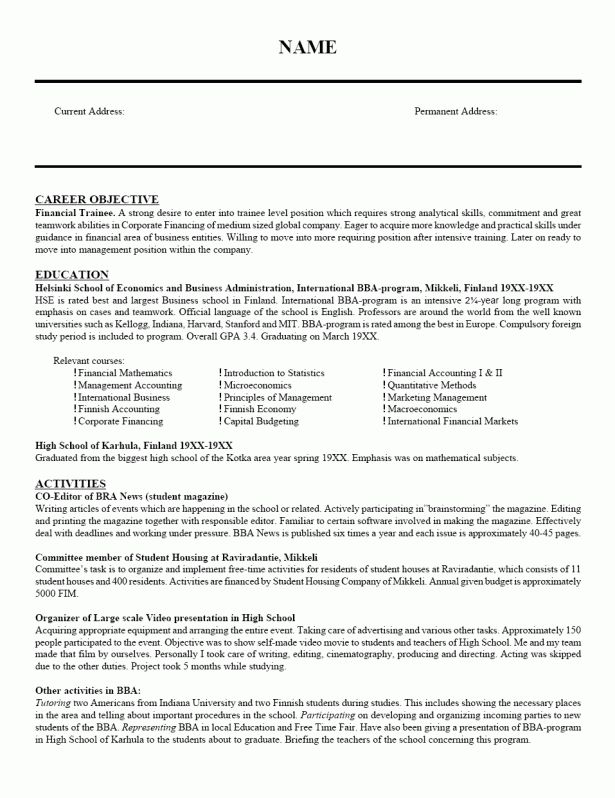 Resume : Examples Of Cover Letter For Job How To Write A Cover ...