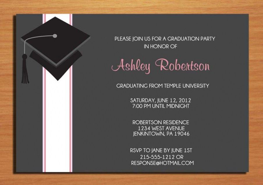 Graduation Party Invitation Templates To Inspire You | THEWHIPPER.COM