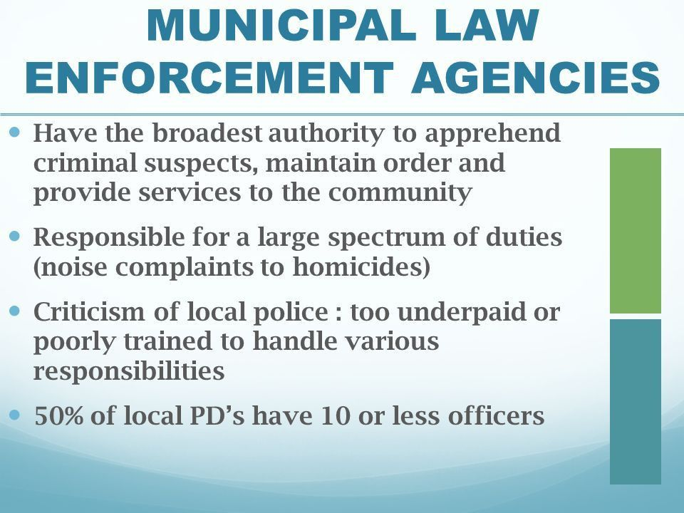 Chapter 5 Law Enforcement Today - ppt download