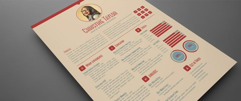 Download FREE Business Resume Template: 3 Colors | Resumes ...