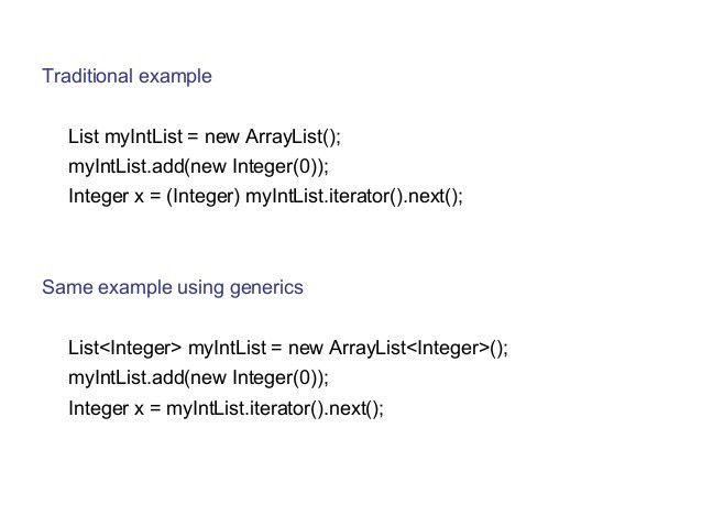 Java Generics for Dummies