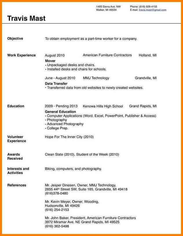 Resume Templates Microsoft Word 2010. Resume Templates On ...