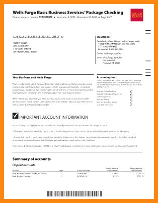5+ chase bank statement template | driver-resume