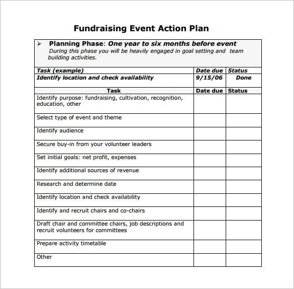 11+ Event Planning Templates – Free Sample, Example, Format ...