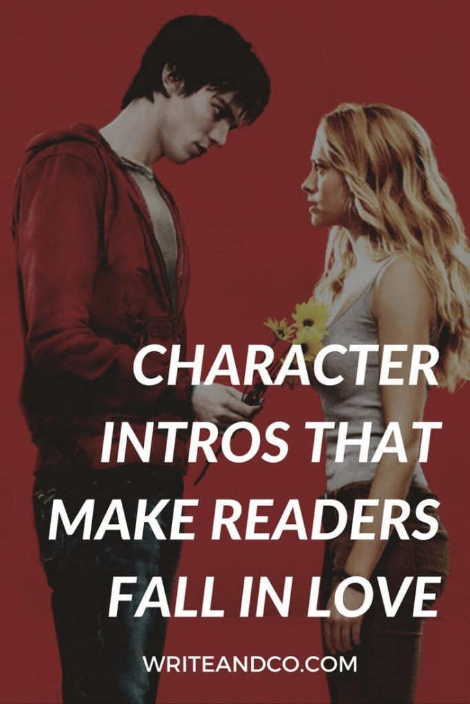 Character Intros That Make Readers Fall in Love - Write + Co. for ...