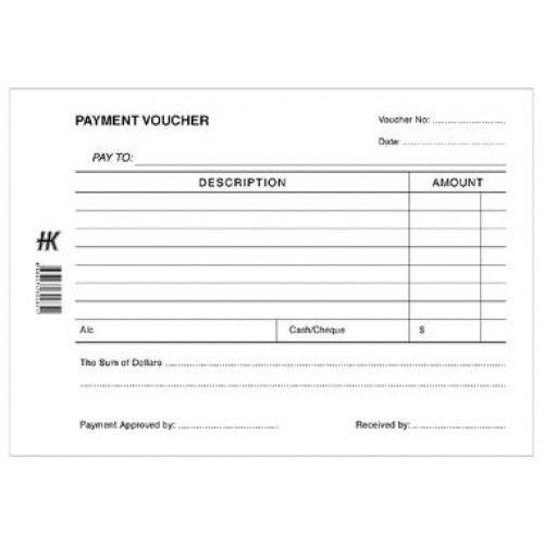 Payment Voucher Pad