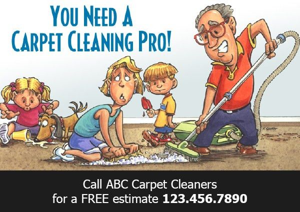 Carpet Cleaning Postcard Gallery | RESPONSE! Targeted Marketing