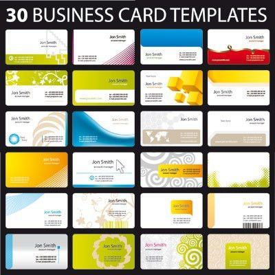 Free Business Card Templates - vnzgames