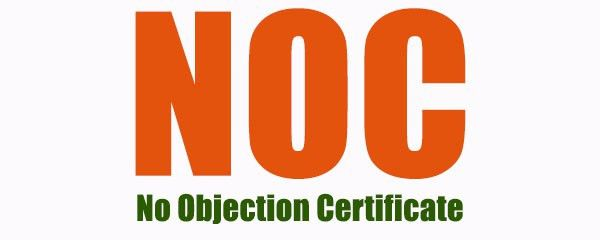 NO objection certificate from landlord