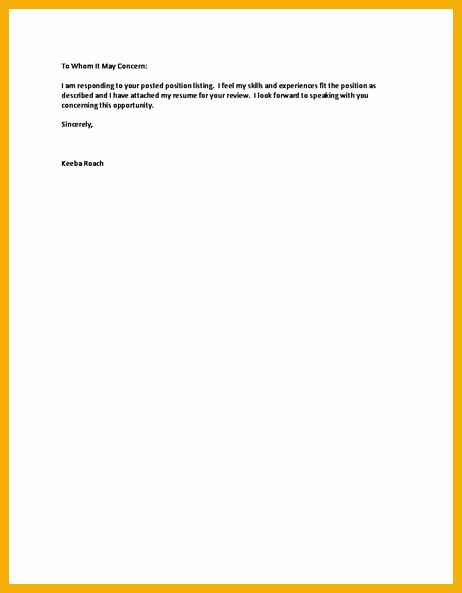 7+ short cover letter | bursary cover letter