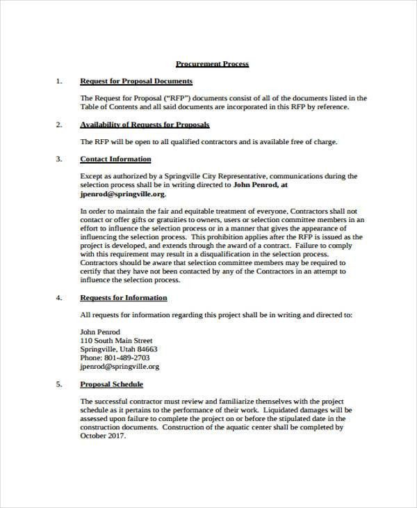 8+ Construction Project Proposal Templates - Free Sample, Example ...