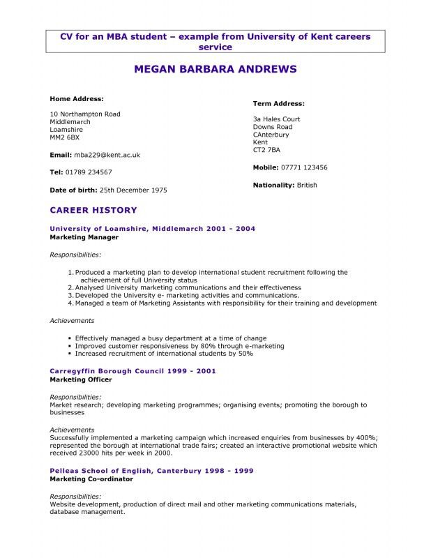 Lovely How To Write A Resume For University Application | Samples Of Resumes