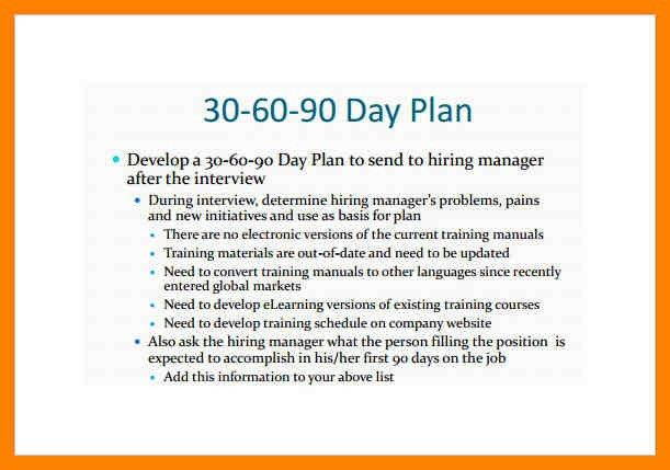 6+ 30-60-90 day sales plan template | day care receipts