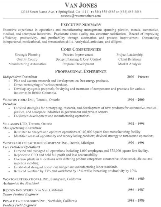 Keywords For Operations Manager Resume. product manager resume ...