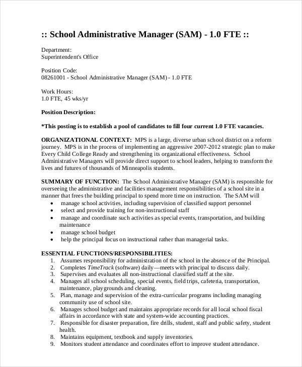 Manager Resume Examples - 24+ Free Word, PDF Documents Download ...