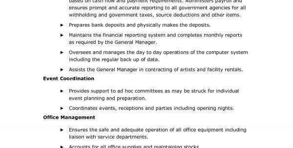 Front Office Medical Receptionist Job Description Resume Medical ...