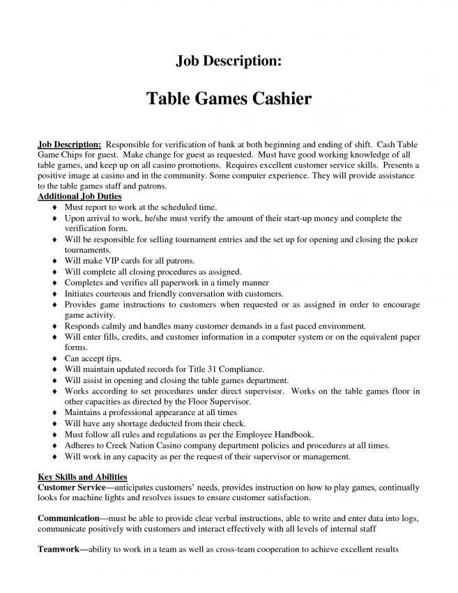 10 What Are The Duties Of A Cashier Job Duties duties of a cashier ...