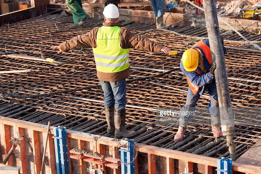 Rebar Construction And Concrete Stock Photo | Getty Images