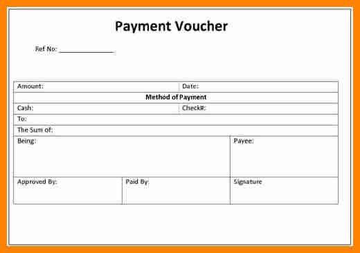 7+ cash payment voucher format doc | job resumed