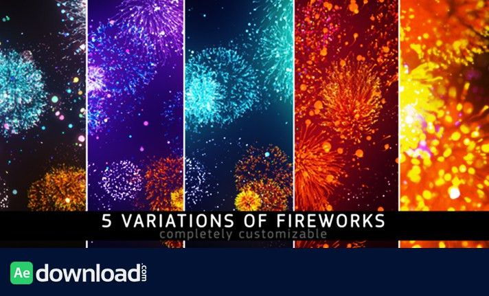 FIREWORKS - MOTION GRAPHIC (VIDEOHIVE) - Free After Effects ...