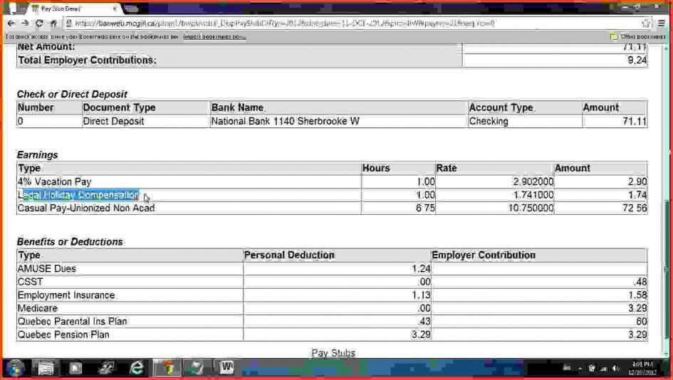 Checks Template Free Check Stub Template Printables Free Payroll ...